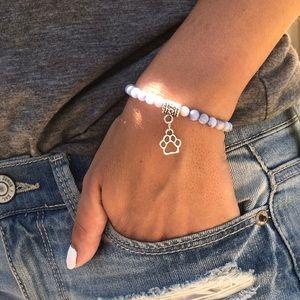 Jewelry - Paw Print Dog Mom Bracelet